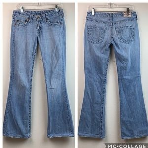 True Religion: Bobby Big T, bootcut jeans 28x32L
